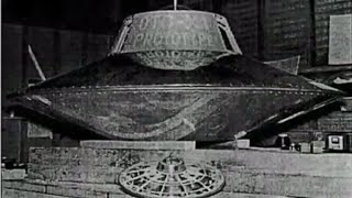 The world's first flying saucer - Nikola Tesla - The world's first man who made UFO