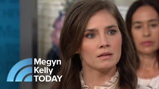 Amanda Knox: 'I Would Love To Talk To Stormy Daniels' | Megyn Kelly TODAY