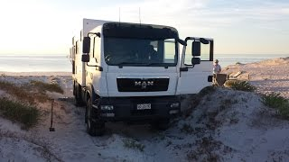 Yorke Peninsula Camping in MAN 4x4 Expedition Truck/Camper