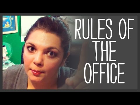 10 Unspoken Rules of the Office
