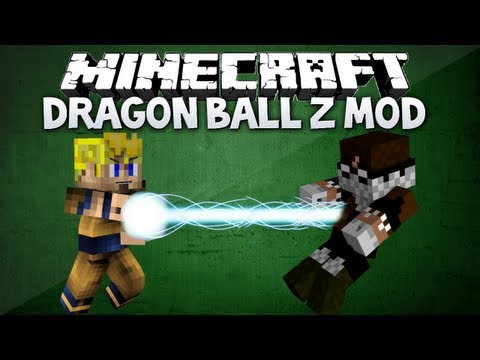 Minecraft: Dragon Ball Z mod - SUPER SAIYAN. KAMEHAMEHA & MORE (Dragon Block C 1.4.5 mod review)