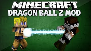 Minecraft: Dragon Ball Z mod - SUPER SAIYAN, KAMEHAMEHA & MORE (Dragon Block C 1.4.5 mod review)