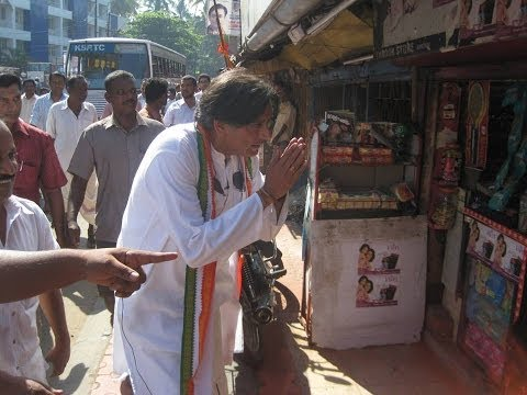 Shashi Tharoor - 2009 Election Song video