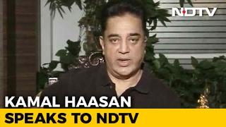 Kamal Haasan Backs Panneerselvam, Says 'Sasikala Reality Hurts Me'