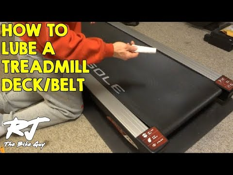 How To Lubricate A Treadmill