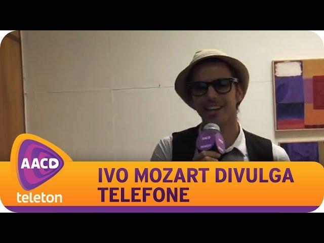 TELETON 2014 - Ivo Mozart revela os números de doação.