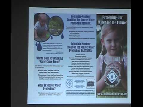 Source Water Protection and Gas Pipeline Education in Columbia-Montour County