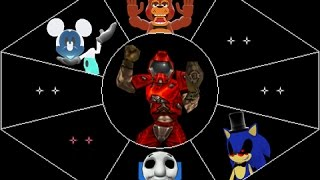 125th Abstract Distract: Five Nights at Freddy's 2 + Doom II