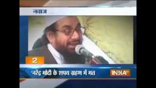 Lashkar-e-Taiba chief warns Nawaz Sharif against attending Modi