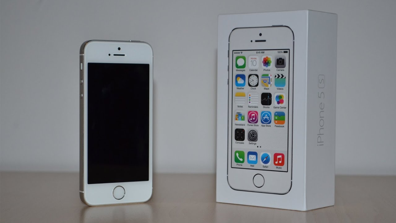 Iphone 5s Silver Images Apple iPhone 5S - Unbo...
