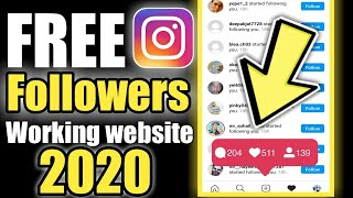 Free Instagram Followers 2018 - How to get Real Followers for Instagram [LIVE Proof]