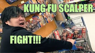 WWE FIGURE SCALPER RAMMED WITH CART at Walmart! Wrestling Toy Hunt!
