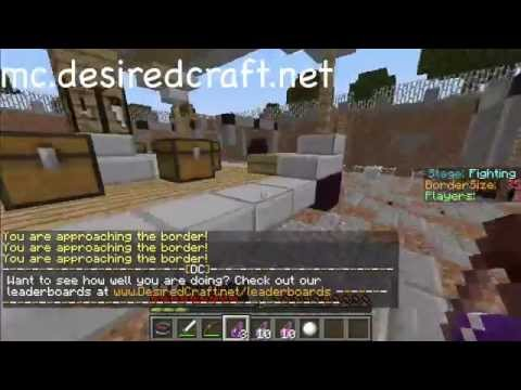 Top 5 Minecraft Hunger Games Servers (1.8)