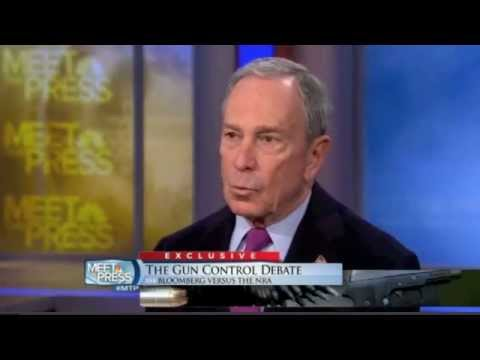 NYC Mayor Bloomberg, Gun Control, Assault Weapons Ban, 2nd Amendment