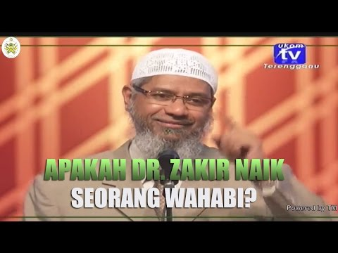 Apakah Dr. Zakir Naik Seorang Wahabi?