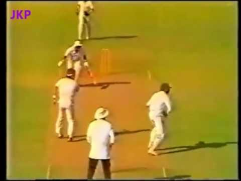 ***** Rare ******* : Sunil Gavaskar's Only ODI 100 Vs New Zealand 1987 World Cup