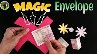 Magic Envelope (Anyone can do this trick) - DIY Tutorial by Paper Folds ❤️