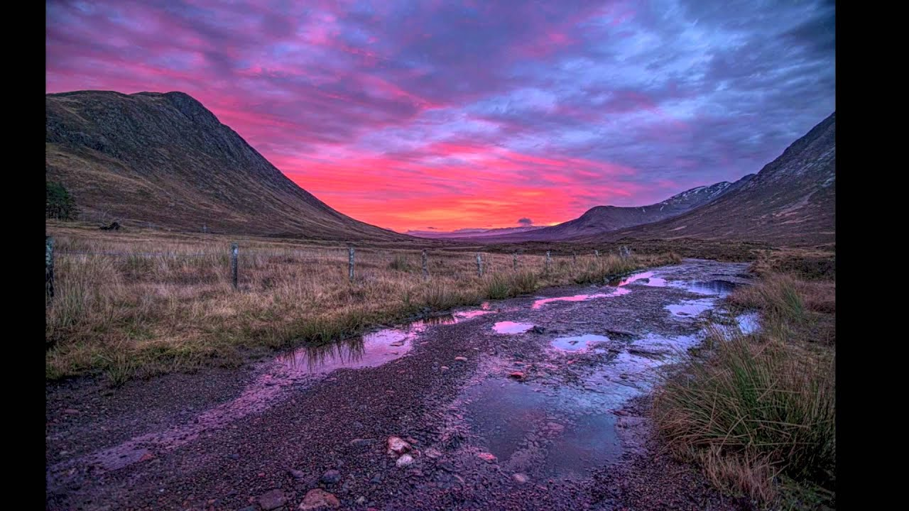 Landscape Photography- How to Capture a Sunrise in Glencoe ...