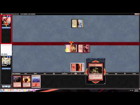 Magic Stronghold: Standard Mono Red Aggro - Match 2