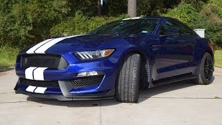 2016 Ford Mustang GT350. 0-125 MPH, 60-0 MPH.