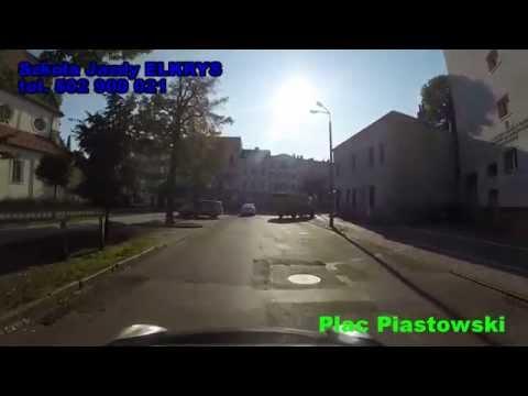 Trasy Egzaminacyjne W Bydgoszczy ( Przykładowe ) Szkoła Jazdy ELKRYS
