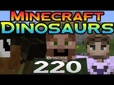 Minecraft Dinosaurs Episode 220 Dino Week Guest Huck