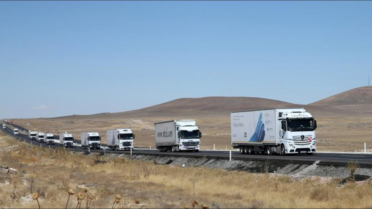 Convoy of Hope Truck Hilfstransport 'convoy of Hope