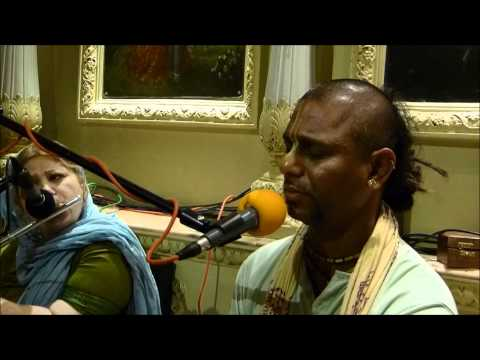 Bhajans By Hg Madhava Das, Iskcon London, 2012 01 14 video