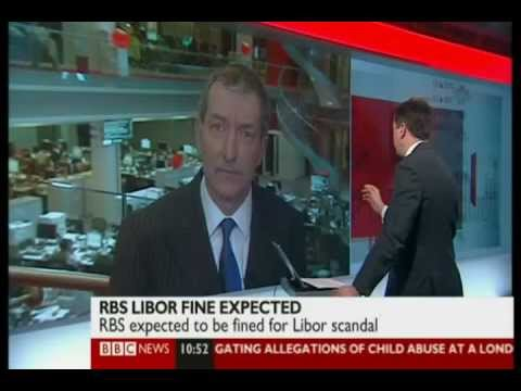 RBS and other banks : leadership issues and fines.  BBC News Channel - 06 Feb 2013