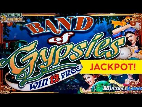 JACKPOT HANDPAY! Band of Gypsies Slot - $12.50 High Limit Bet!!