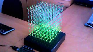 LED Cube 8x8x8