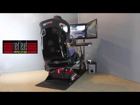 Next Level Racing Motion Platform V2 Simulator Cockpit - iRacing, Project Cars, Assetto Corsa