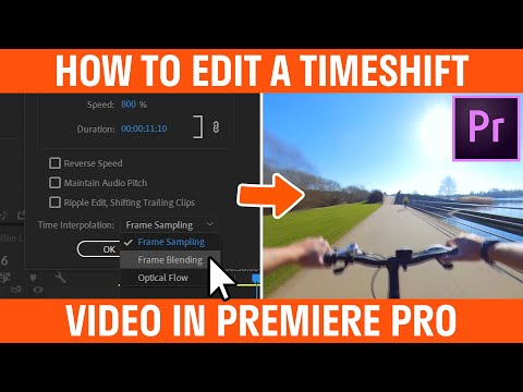 How To Edit A Timeshift Video Insta360 ONE X Premiere Pro Workflow Tutorial