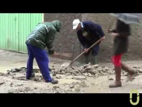 سكان يشتكون من تسرب مياه الصرف الصحي بحي أكادير بوزان