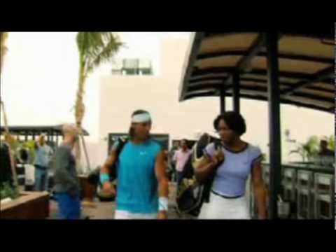 Serena Williams & Rafael Nadal Walk on Water
