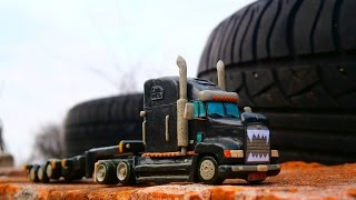 Как слепить Freightliner FLD 120 Drozd RTC Scale model trucks