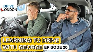 Lesson after Failing Test - Learning to drive with George EPISODE 20 - UK Driving Test