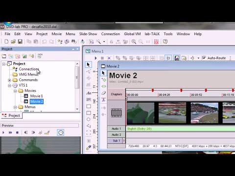 Como Fazer DVDs Profissionais com DVD Lab Pro 2