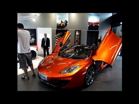 McLaren roars into China luxury auto market
