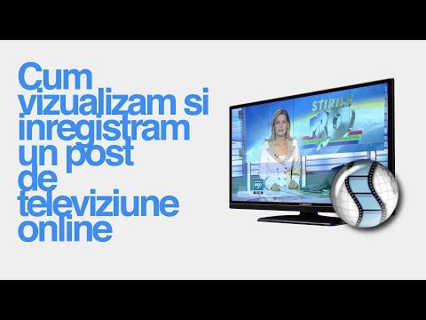 Cum vedem si inregistram un post de televiziune online cu SopCast