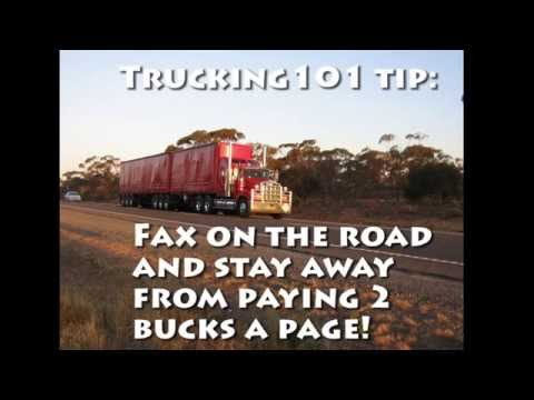 Trucking 101 Send and Receive faxes anywhere for FREE
