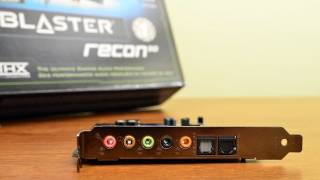 Creative Sound Blaster Recon3D PCI-E Unboxing + Written Review