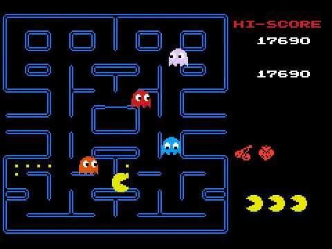 Pac-Man - fragment rozgrywki