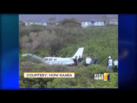 Plane makes hard landing on Maui