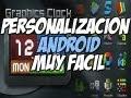 Personalización para android MUY FÁCIL   Tema Go launcher Graphics Art - Happy Tech android