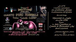 Guanto D'Oro Femminile Trofeo Colombi 2018 QUARTI
