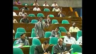 Bangladesh Parliament 2012 | Barrister Andalib Rahman Partho 2nd Parliamentary Speech. 19/03/2012