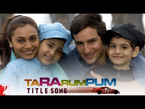 Ta Ra Rum Pum - Title Song | Saif Ali Khan | Rani Mukerji