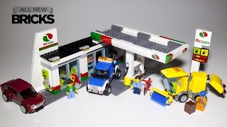 Lego City 60132 Service Station Speed Build