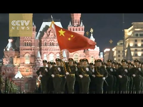 Russia Victory Day parade: Rehearsal shows foreign troops' participation